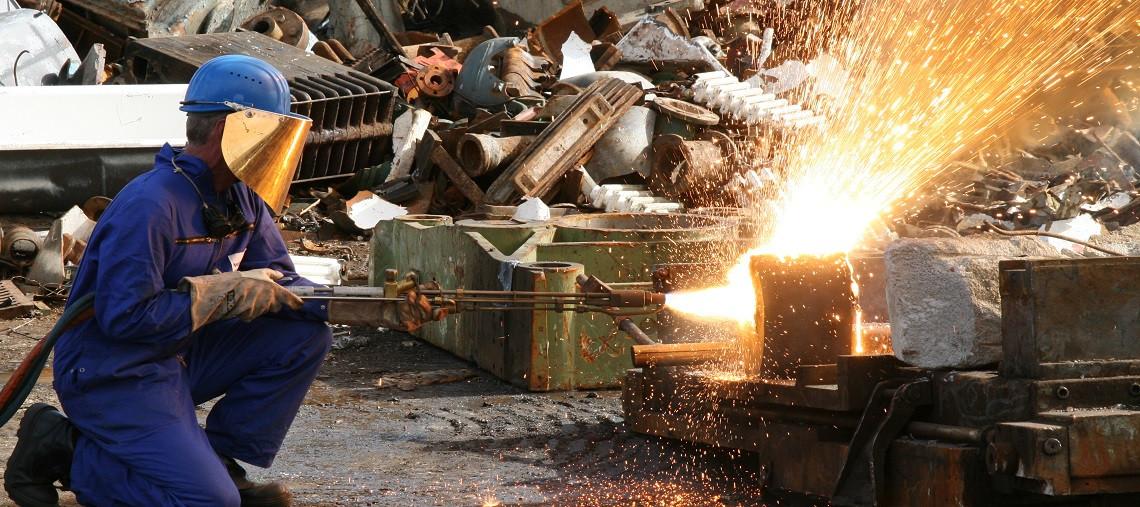 بوري قطع مصنع الحديد والصلب
