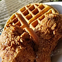 Chicken and Waffle Plate