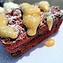 Red Velvet Bread pudding