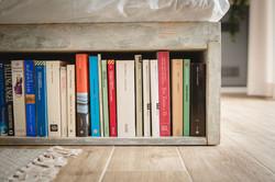 book shelf bed