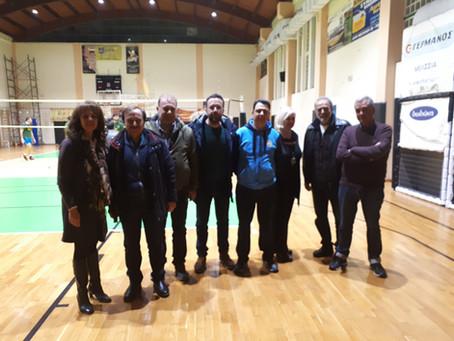 Συνάντηση με το Δ.Σ. του αθλητικού συλλόγου Σ.Φ.Α.Μ.  ΦΟΙΒΟΣ