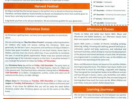 Lilliput News Autumn Newsletter