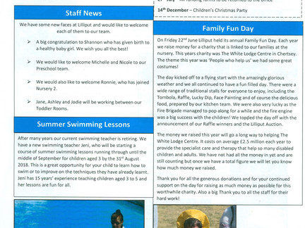 Lilliput News Summer Newsletter