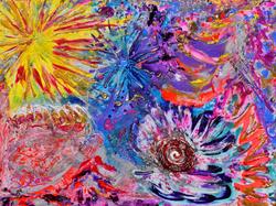Quantum Sun Dance ~ SS Love 48x36