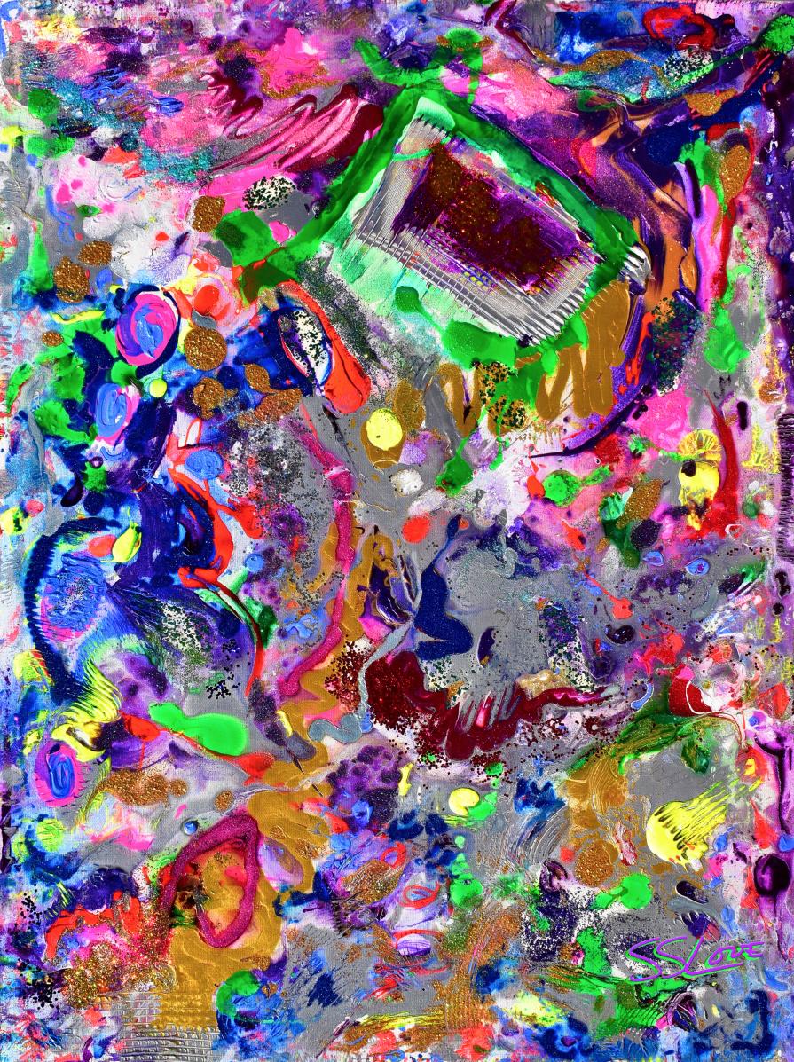 8th Dimension ~ SS Love 36x48