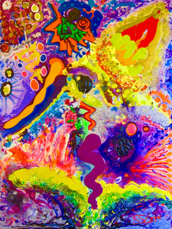 Pollination ~ SS Love 36x48