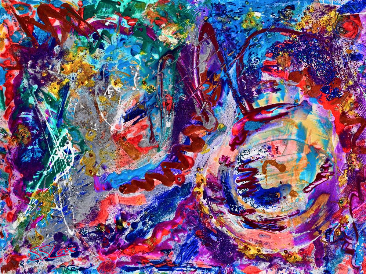 Laughing Buddha ~ SS Love 48x36