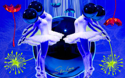 Wishes Blue Dreams Sher Love Collage