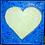 Thumbnail: Love Light Blue Metallic