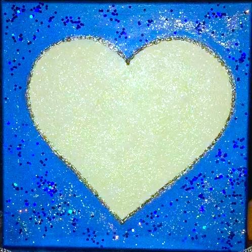 Love Light Blue Metallic
