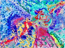 Aqua Dreams ~ SS Love 48x36