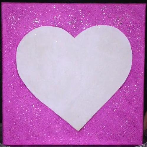Love Light Neon Purple