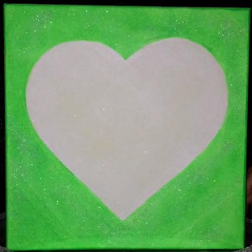Love Light Neon Green 2