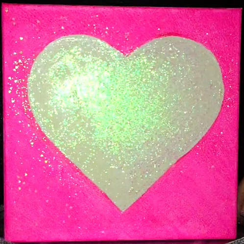 Love Light Neon Pink 2