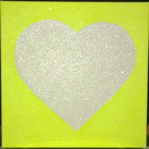 Love Light Neon Yellow 2