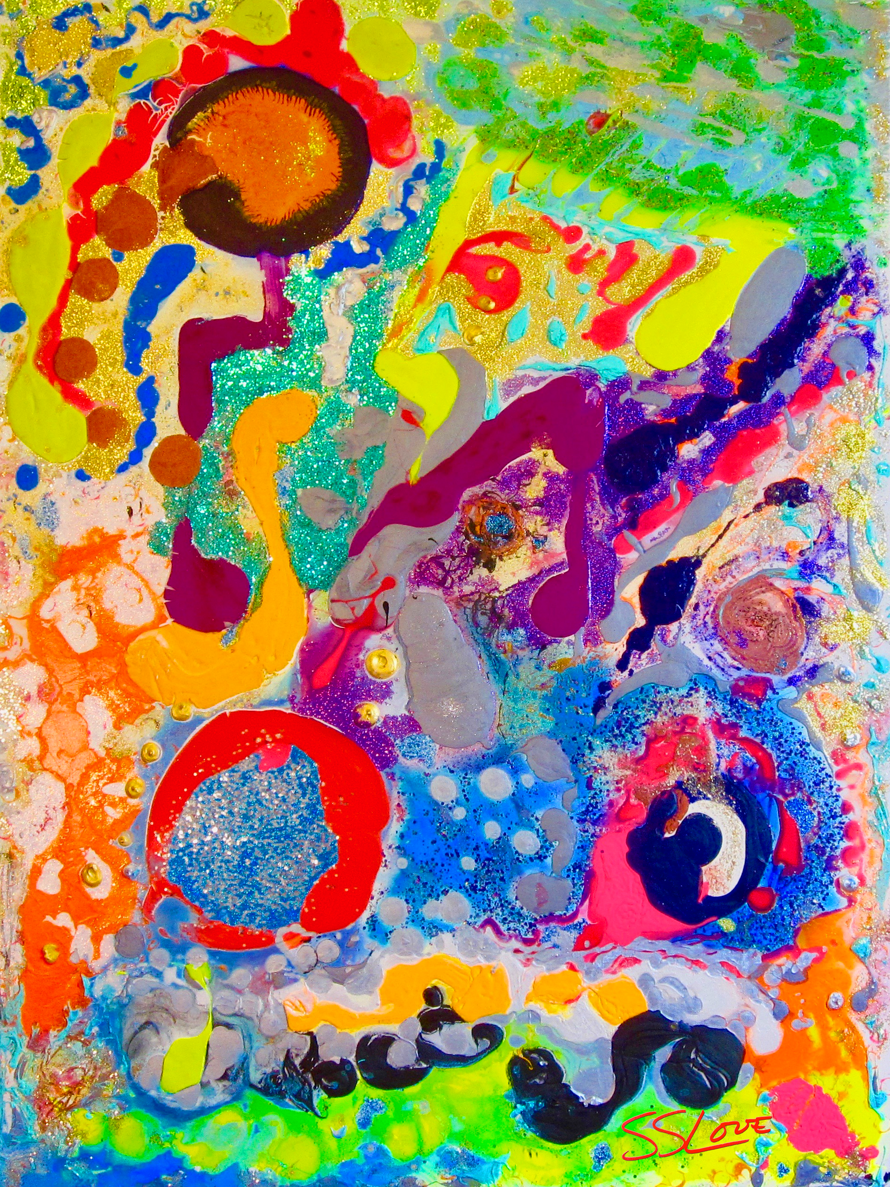 Music of the Spheres ~ SS Love 36x48
