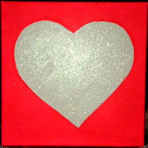 Love Light Neon Red