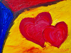 Two Loves ~ SS Love 48x36