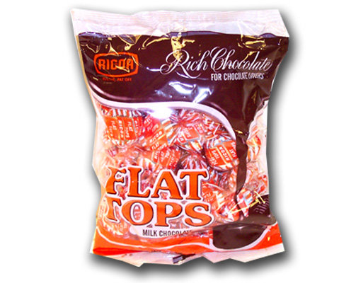 Ricoa Flat Tops Chocolate Candy