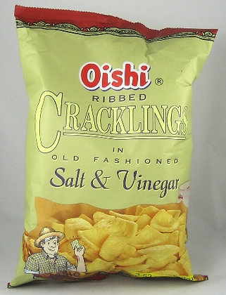 Oishi Cracklings with salt & vinegar