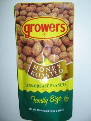 Growers Honey Roasted Peanut