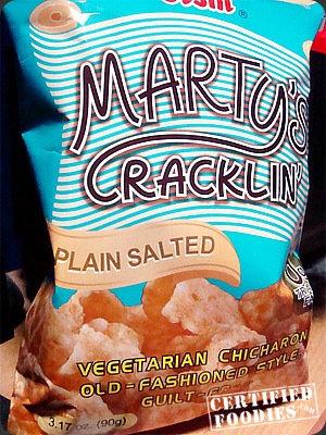 Marty's Cracklin, Plain
