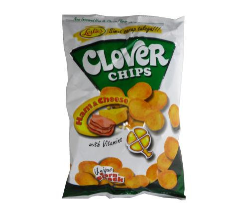 Leslie Clover Chips-Ham & Cheese Flavored