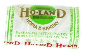 Holand Pandan-Macapuno Hopia
