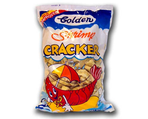 Golden Shrimp Crackers