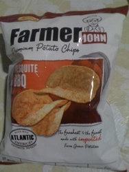 Leslie FJ Potato Chips mesquite BBQ