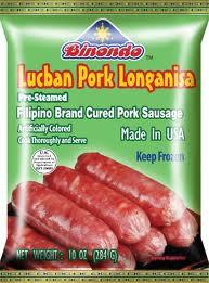 Binondo Lucban Pork Longonisa Precooked