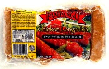 Pampango Chicken Sweet Longanisa
