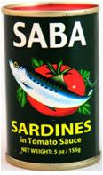 Saba Sardines in Tomato Sauce (Green)