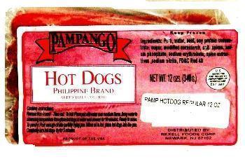 Pampango Hotdog Regular