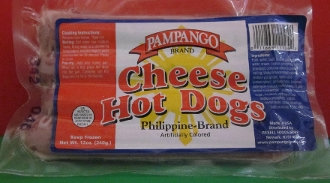 Pampango Cheese Hotdog