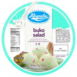 Magnolia Ice Cream-Buko Salad