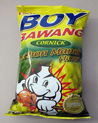 Boy Bawang Lechon Manok (Cornick)