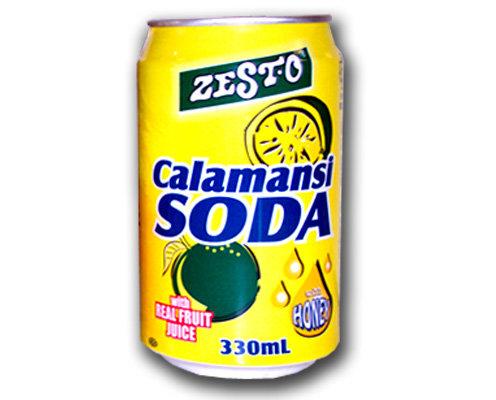 Zest-O Calamansi Soda with Honey
