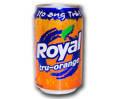 Royal Tru Orange in Can