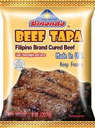 Binondo Beef Tapa