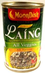 Moondish Laing (Taro Leaves) in Coconut Cream, Reg