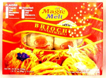 Magic Melt Ensaymada, Assorted