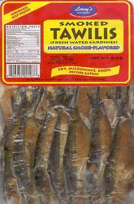 Leony's Smoked Gutted Herring (tawilis)