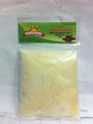 Mabuhay Frozen Grated Cassava