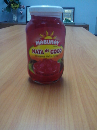 Mabuhay Coconut Gel (Nata de Coco) Red