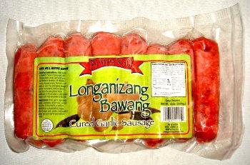 Pampango Garlic (Bawang) Sausage