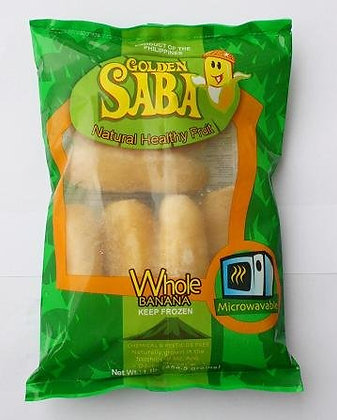 Golden Saba Frozen Whole Banana