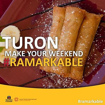 Turo-Turo Banana Fritters, Turon