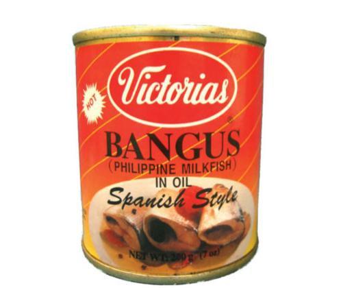 Victorias Hot Bangus in Oil
