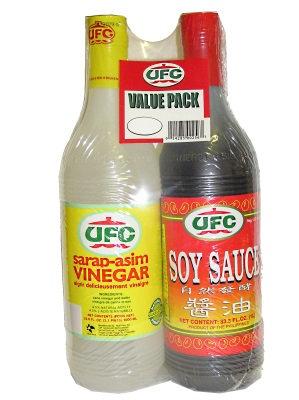 UFC Vinegar-Soy Sauce Pack
